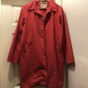 Eddie Bauer raincoat pink